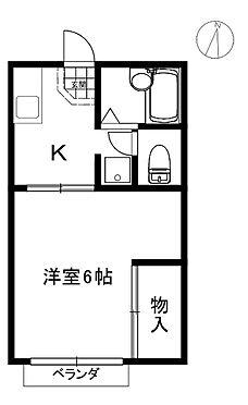 アパート-宝塚市高司3丁目 間取り