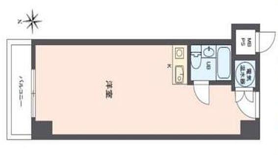 区分マンション-大阪市中央区北久宝寺町4丁目 間取り