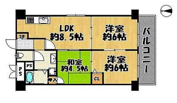 マンション(建物一部)-大阪市平野区西脇1丁目 フル改装済みのキレイな室内