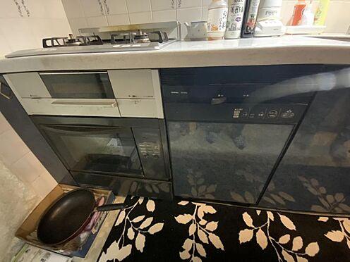 中古マンション-江戸川区中葛西6丁目 食洗器、オーブン、グリルなど