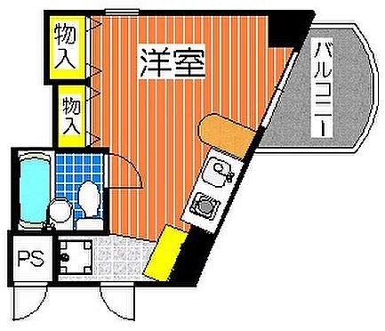 マンション(建物一部)-大阪市天王寺区大道3丁目 押入れも多い、個性的な間取り。
