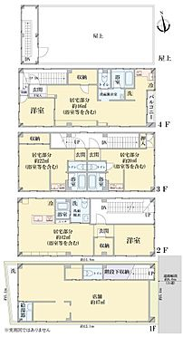 住宅付店舗-大阪市北区大淀南3丁目 間取り