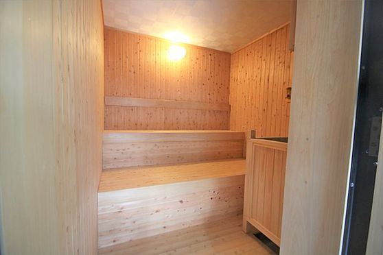中古マンション-足柄下郡湯河原町宮上 大浴場(4):サウナーには嬉しい設備です。水風呂もございます。