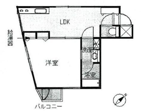 マンション(建物一部)-豊島区目白5丁目 間取り