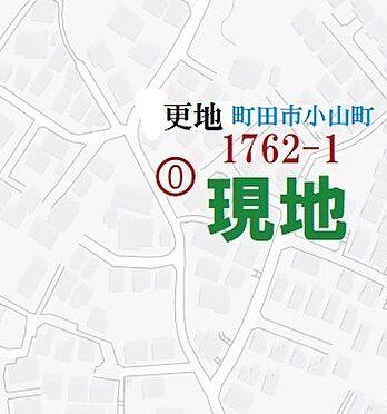 土地-町田市小山町 地図