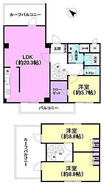 マンション(建物一部)-新宿区納戸町 間取り