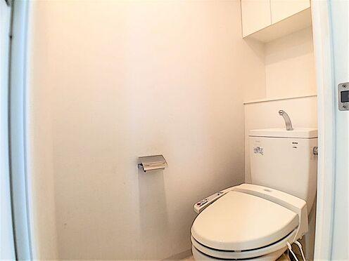 中古マンション-名古屋市天白区井の森町 清潔感溢れるトイレ♪収納スペースもございます♪