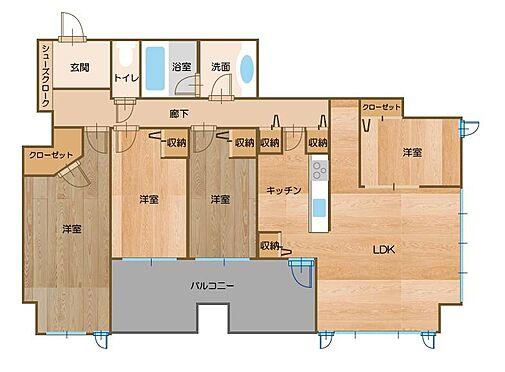マンション(建物一部)-浜松市中区板屋町 間取り