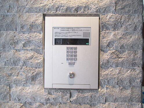 区分マンション-福岡市中央区荒戸1丁目 カメラ付きオートロックインターホン