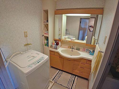 中古マンション-賀茂郡東伊豆町奈良本 洗面・脱衣スペースも綺麗な状態です。