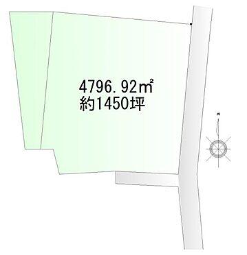 土地-加美郡色麻町吉田字石坂 区画図