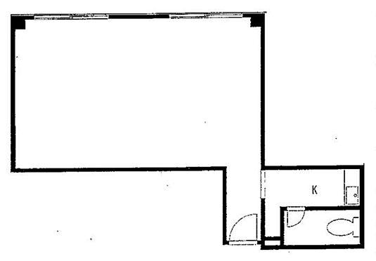 事務所(建物一部)-新宿区新宿5丁目 間取り