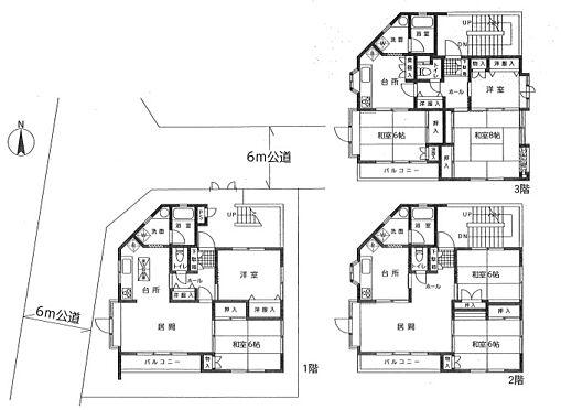 マンション(建物全部)-世田谷区千歳台1丁目 間取り