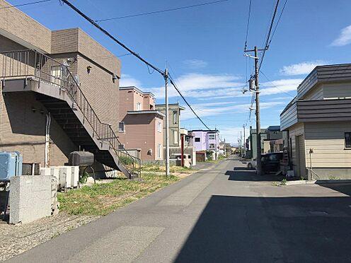 ビル(建物全部)-石狩市花川南九条2丁目 前面道路(裏側)