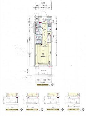 マンション(建物一部)-大阪市中央区森ノ宮中央2丁目 間取り