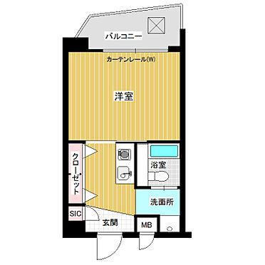 マンション(建物一部)-福岡市博多区美野島3丁目 間取り