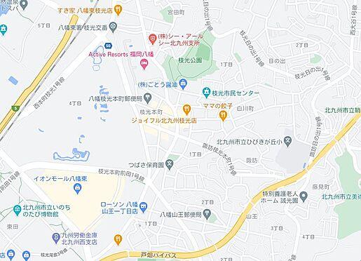マンション(建物一部)-北九州市八幡東区枝光本町 地図