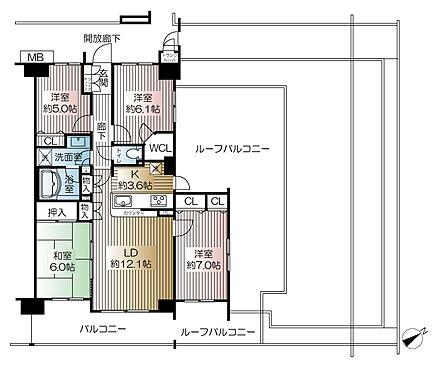 マンション(建物一部)-立川市錦町6丁目 間取り