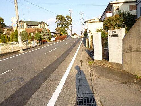 アパート-水戸市米沢町 前面道路