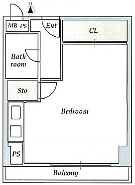 マンション(建物一部)-大阪市西区南堀江1丁目 南向きバルコニー