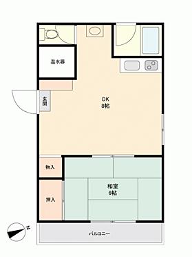 マンション(建物一部)-鹿児島市谷山中央 間取り