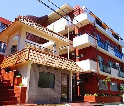 マンション(建物一部)-神戸市東灘区本山南町6丁目 外壁はレンガ調のタイル張り