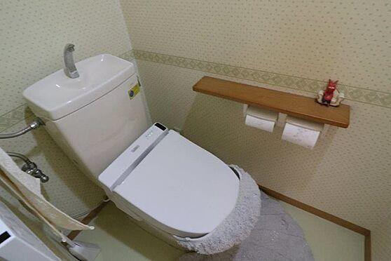 中古マンション-八王子市越野 トイレ