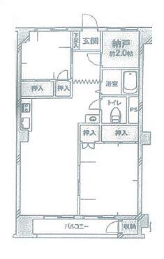 区分マンション-松戸市松戸 間取り