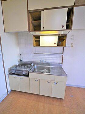 一棟マンション-北九州市小倉北区下到津4丁目 ガスコンロなので調理器具を選びません。