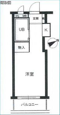 マンション(建物一部)-横浜市港南区日野南6丁目 間取り