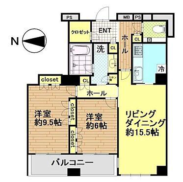 マンション(建物一部)-港区赤坂6丁目 間取り