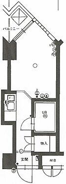 マンション(建物一部)-福岡市中央区平尾1丁目 間取り