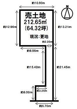 土地-磯城郡田原本町南町 区画図
