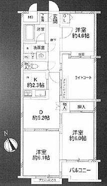 中古マンション-荒川区東尾久6丁目 間取り