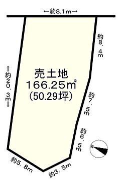 土地-神戸市垂水区桃山台6丁目 区画図
