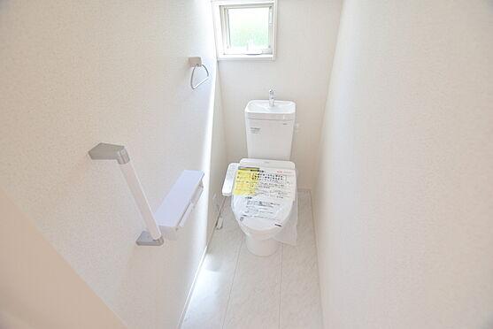 新築一戸建て-仙台市青葉区中山6丁目 トイレ