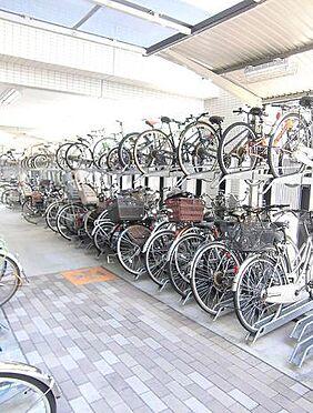 マンション(建物一部)-大阪市此花区島屋6丁目 屋根のある駐輪場あり