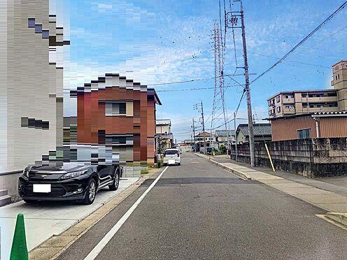 戸建賃貸-一宮市木曽川町門間字筋違 見通し良好な前面道路!交通量も少ないので小さいお子様がいても安心です!