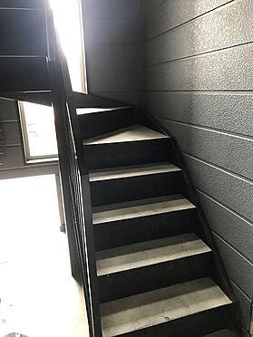 アパート-札幌市東区北三十七条東5丁目 共用階段