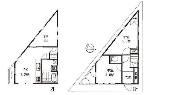 建物全部その他-西東京市保谷町6丁目 間取 3DK