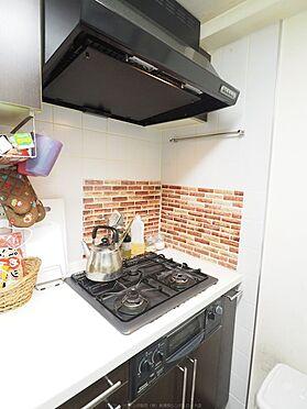 中古マンション-浦安市東野2丁目 三口コンロでお料理もはかどります。