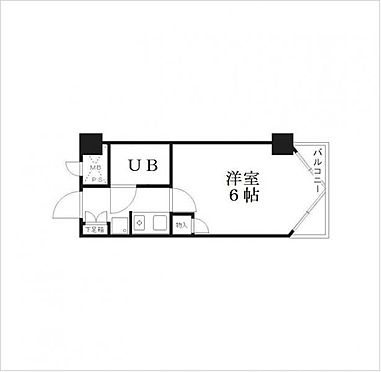 マンション(建物一部)-京都市中京区麩屋町通三条下る白壁町 間取り