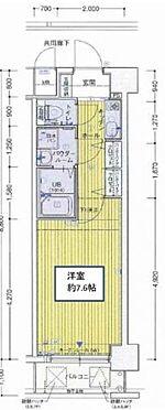 マンション(建物一部)-大阪市中央区内淡路町3丁目 間取り