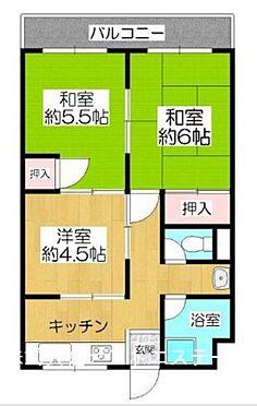 区分マンション-大阪市天王寺区上汐5丁目 間取り