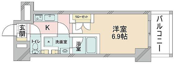 マンション(建物一部)-大阪市淀川区十三東1丁目 室内に洗濯機置き場あり