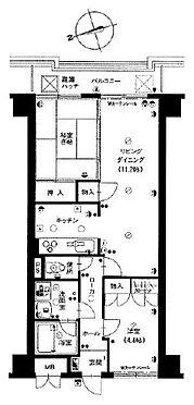 マンション(建物一部)-金沢市北安江1丁目 間取り