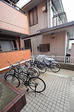 マンション(建物全部)-松戸市新松戸3丁目 入居者専用の駐輪スペース