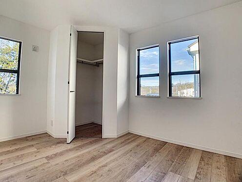 新築一戸建て-名古屋市守山区小幡北 4LDKの全居室にWICが有るので収納充実しております。