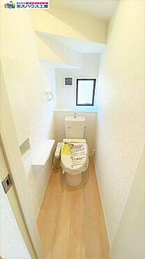 戸建賃貸-角田市角田字田町 トイレ