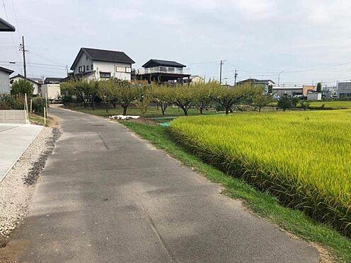 土地-みよし市三好町東善休 毎日のお散歩コースにも最適ですね!